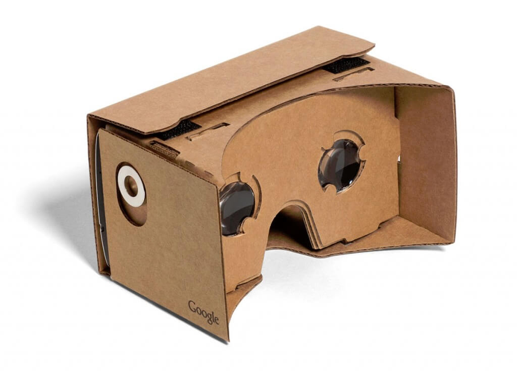 Google Cardboard, deluxe virtual reality brillen