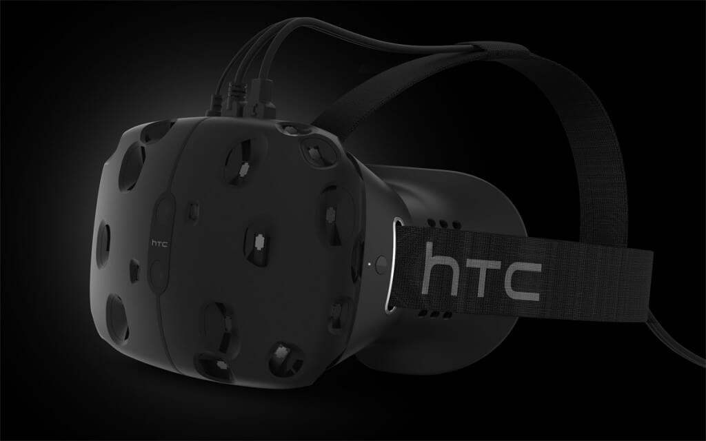 HTC Vive, deluxe virtual reality brillen