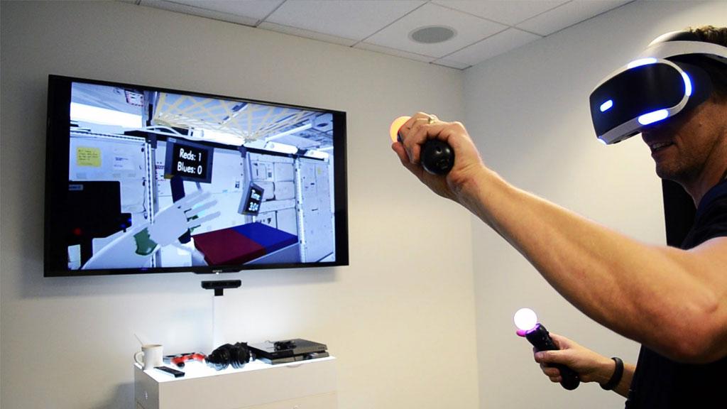 NASA werkt samen met Sony Playstation VR